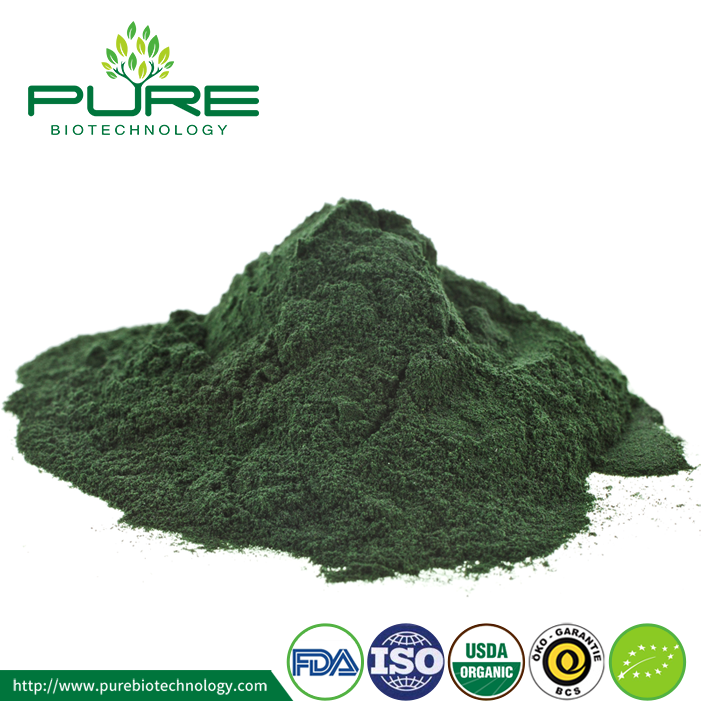 Top Grade NOP EU Certified Organic Spirulina Powder (3)