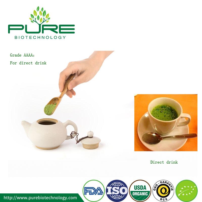 organic matcha tea Grade AAAA